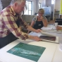 Gary Shinfield  Inkmasters Print Exhibition 2018 Judge