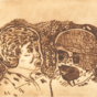 Heather Koowootha, The mentors, drypoint