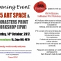 InkMasters Cairns launch the new community art space #55 ArtSpace and InkMasters Print Workshop.