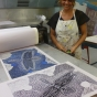 Sheryl Burchill, Print Day in May 2018, InkMasters Print Workshop, Cairns