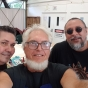 Arone, Theo Tremblay and Brian Robinson at IMPW