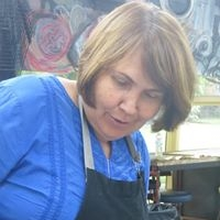 Rose Rigley at InkMasters Print Workshop, InkMasters Cairns