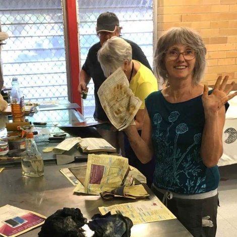 Saturday Smile at Print Club Inmasters Print Workshop