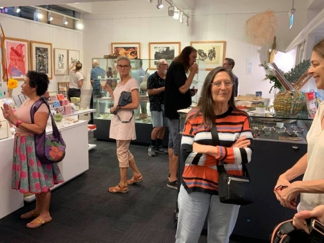 Launch of PCA Print Commission KickArts Cairns