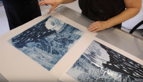 InkMasters Print Workshop Introduction to Screenprinting Hannah Parker