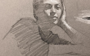 Study, Theo Tremblay, Fundamentals of Drawing Course, Inkmasters Cairns Print Workshop