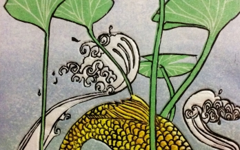 InkMasters Japanese woodcut workshop 3/4 Jun