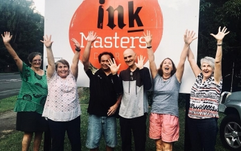 AGM Inkmasters Print Workshop Cairns 15 May 19
