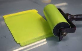 Inkming the brayer